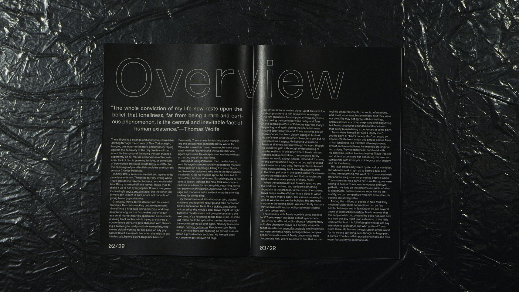 Taxi Driver Magazine Overview