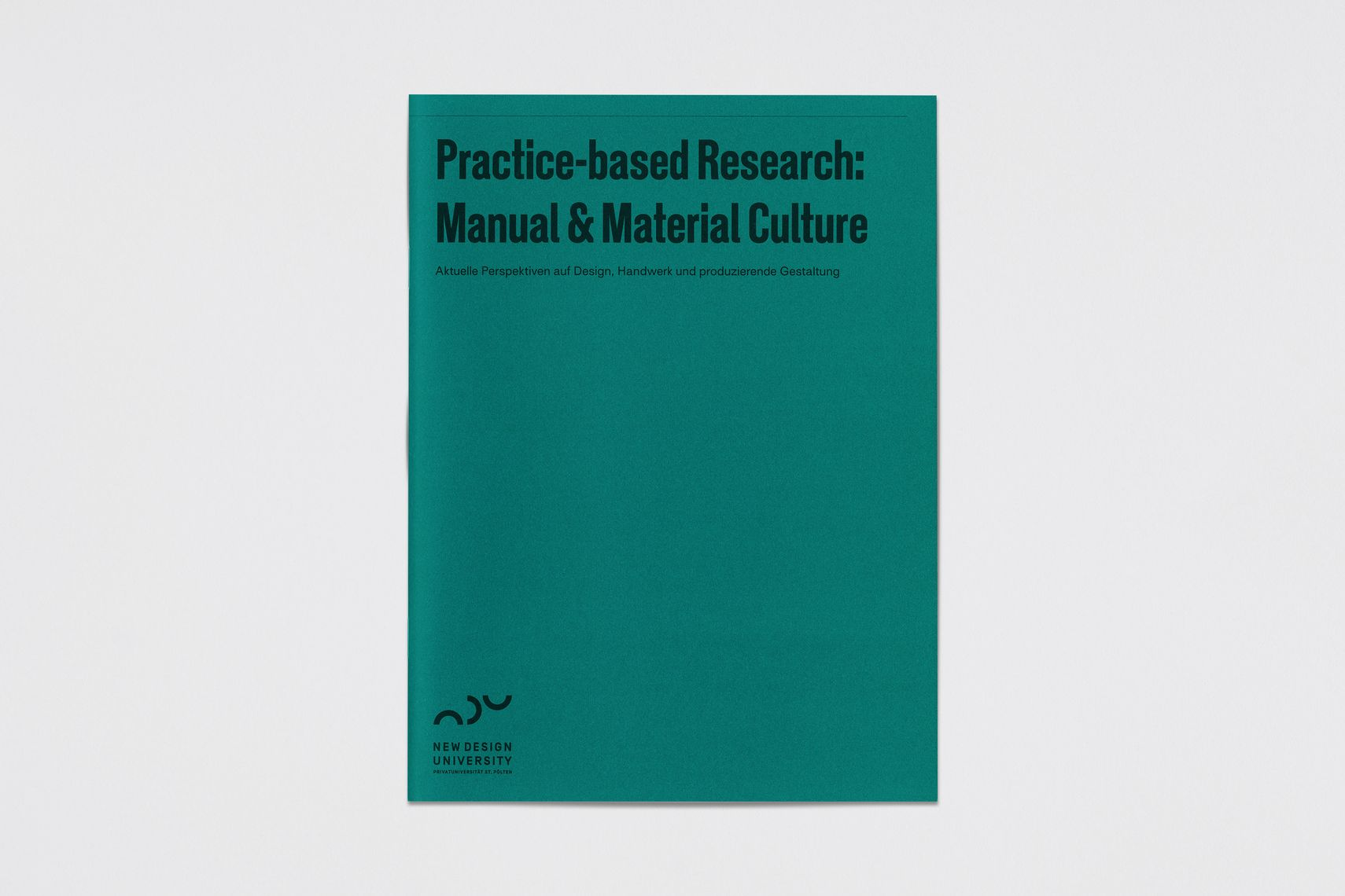 Practice-based Research: Manual & Material Culture